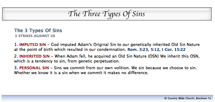 3 types of sins  visual    country bible church